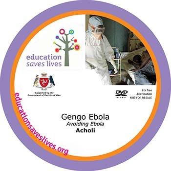 Acholi Avoiding Ebola DVD
