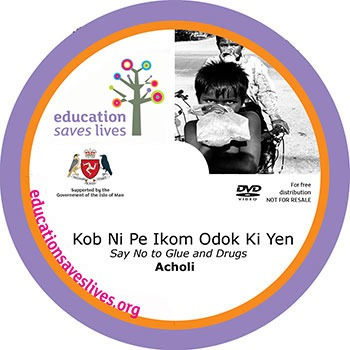 Acholi DVD: Say No to Glue and Drugs DVD Lesson