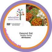 Afrikaans Healthy Eating DVD
