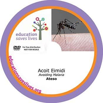 Ateso Avoiding Malaria DVD