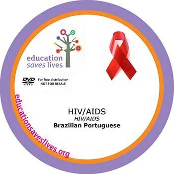 Brazilian Portuguese DVD: HIV AIDS