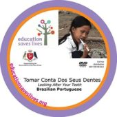 Brazilian Portuguese DVD: Looking After Your Teeth IOM