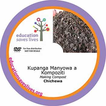 Chichewa Making Compost DVD