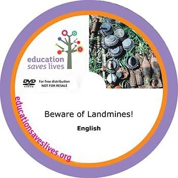 English: Beware of Landmines