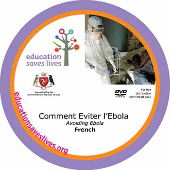 French - Avoiding Ebola DVD (Comment Eviter l'Ebola)