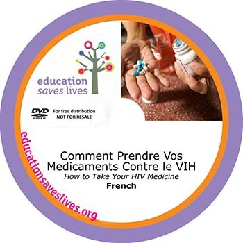 French How to Take Your HIV Medicine DVD