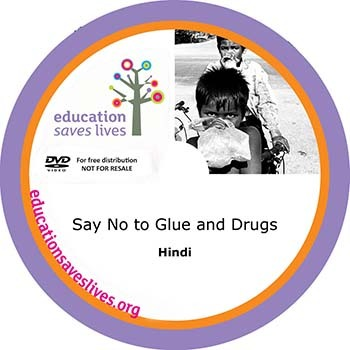 Hindi DVD: Say No to Glue and Drugs