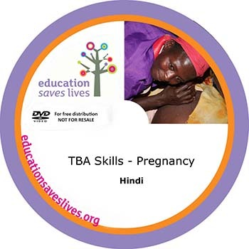 Hindi DVD: TBA Skills - Pregnancy