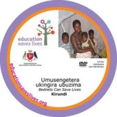 Kirundi Bednets Can Save Lives DVD