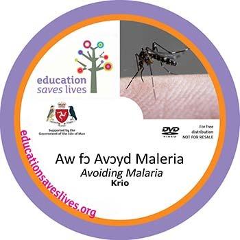 Krio Avoiding Malaria DVD