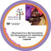 Luganda DVD: TBA Skills - Pregnancy