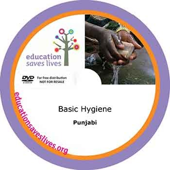 Punjabi: Basic Hygiene DVD
