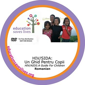 Romanian DVD: HIV AIDS A Guide For Children