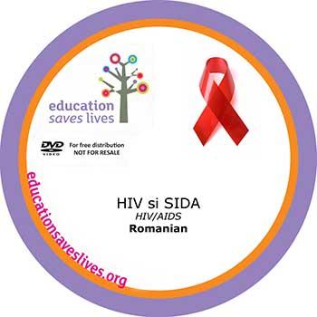 Romanian DVD: HIV AIDS