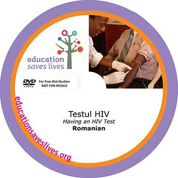 Romanian DVD: Having an HIV Test