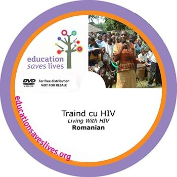 Romanian DVD: Living With HIV
