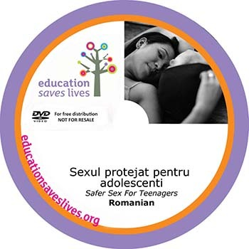 Romanian DVD: Safer Sex For Teenagers