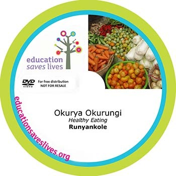 Runyankole DVD: Healthy Eating