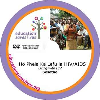 Sesotho Living With HIV DVD