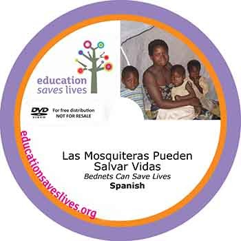 Spanish DVD Lesson: Bednets Can Save Lives