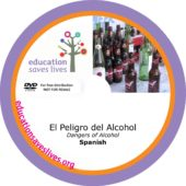 Spanish Dangers of Alcohol DVD lesson