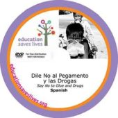 Spanish DVD Lesson: Say No to Glue and Drugs