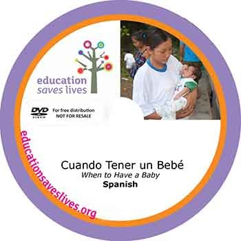 Spanish DVD Lesson: When to Have a Baby