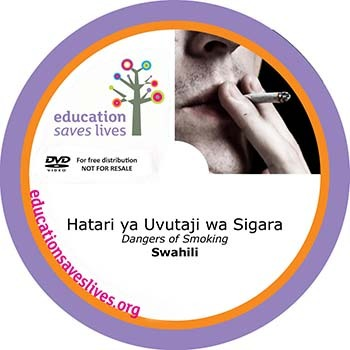 Swahili DVD: Dangers of Smoking