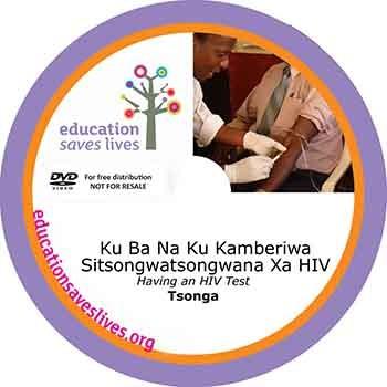 Tsonga DVD: Having An HIV Test