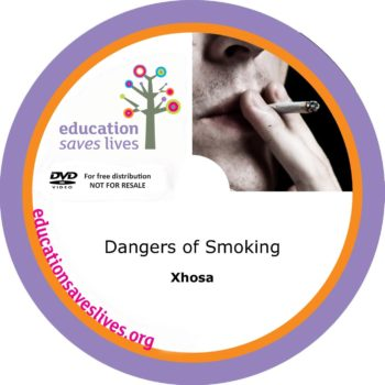 Xhosa: Dangers of Smoking - DVD Lesson