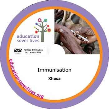 Xhosa Immunisation DVD lesson