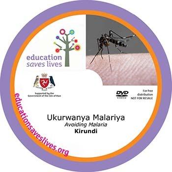 Kirundi Avoiding Malaria DVD