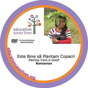 Romanian DVD: Planting Trees is Good