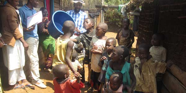 Washing Hands to Improve Health in Rural DR Congo