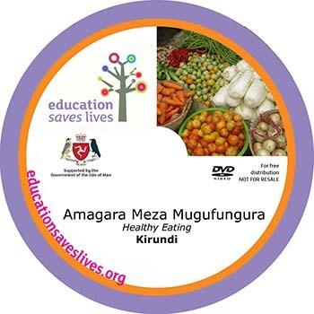 Kirundi Healthy Eating DVD