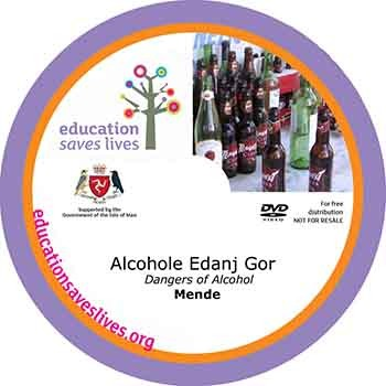 Mende Dangers of Alcohol DVD