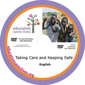 English DVD: Taking Care and Keeping Safe