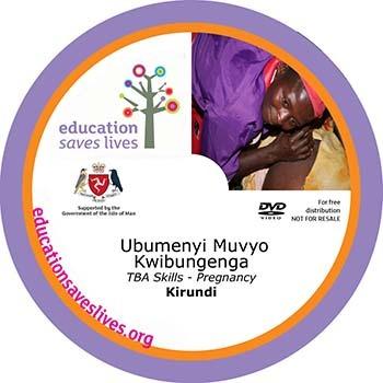 Kirundi TBA Skills pregnancy DVD