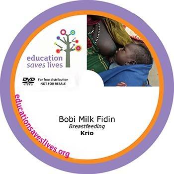 Krio Breastfeeding DVD