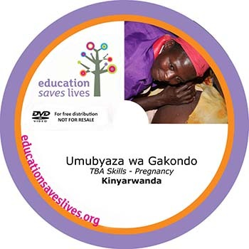 Kinyarwanda TBA Skills - Pregnancy DVD lesson