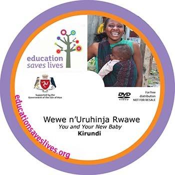 Kirundi You and Your New Baby DVD