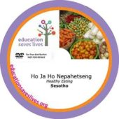Sesotho: Healthy Eating DVD