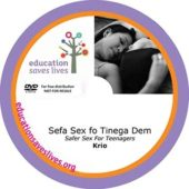 Krio Safer Sex For Teenagers DVD