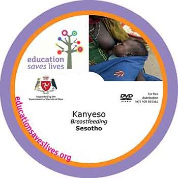 Sesotho DVD Lesson on Breastfeeding