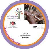 Sesotho Immunisation DVD