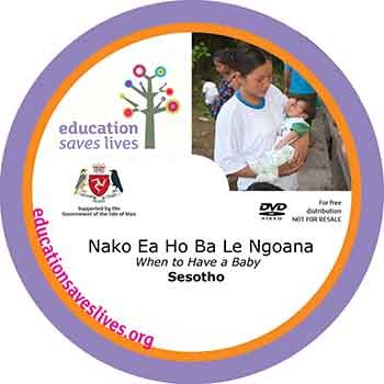 Sesotho DVD Lesson: When to Have a Baby