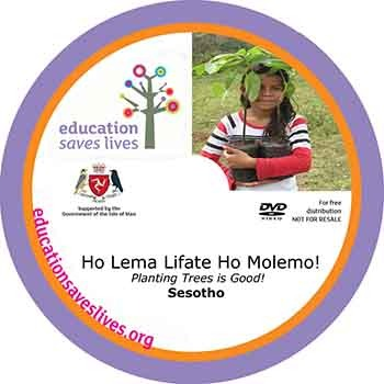 Sesotho Planting Trees is Good DVD