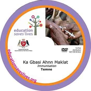 Temne Immunisation DVD Lesson
