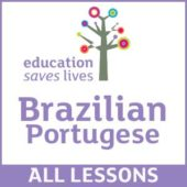 Brazilian Portugese - DVD lessons set