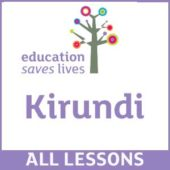 Order all Kirundi DVD Lessons